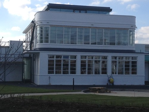 RAF West Malling Control Tower under refurbishment