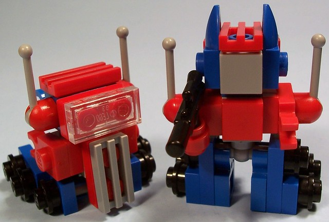 Optimus Prime (Micro-Mood Scale)
