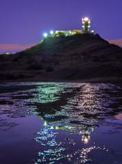 Reflejos del Faro del Cabo