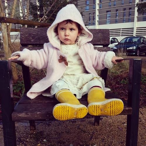 ♥ sérieuse, elle est ♥ #baby #aigle @tapealoeil #ourlittlefamily #france