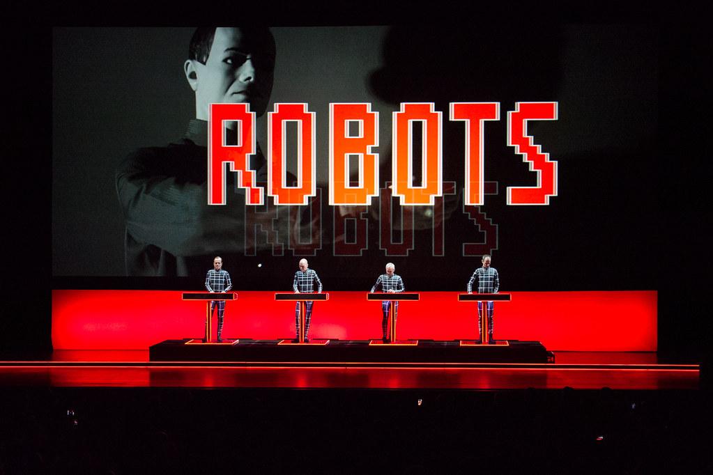 Kraftwerk LIVE in Singpore
