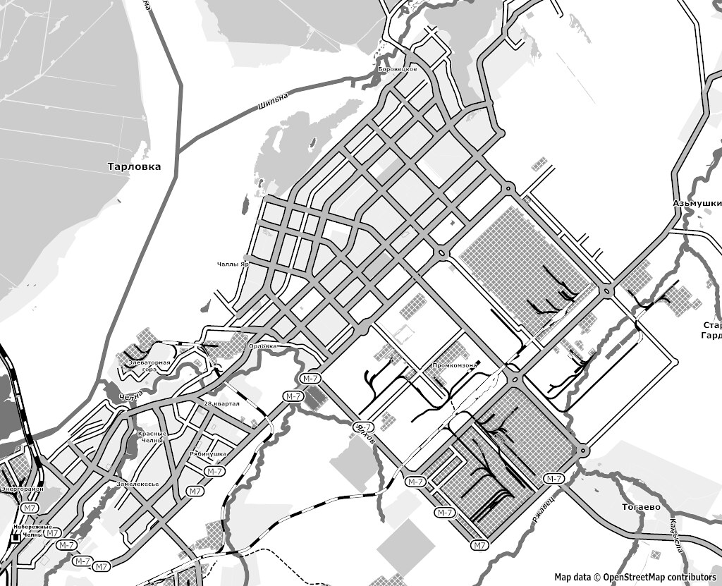 map of nabereznye chelny openstreetmap