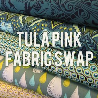 Tula Pink Fabric Swap