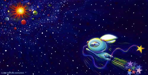 星うさぎの絵本3