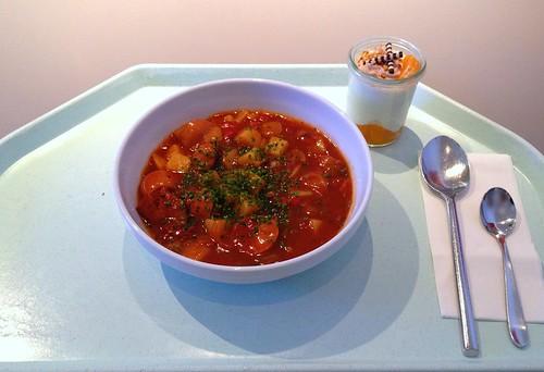 Pikanter Wurstgulasch / Zesty sausage goulash