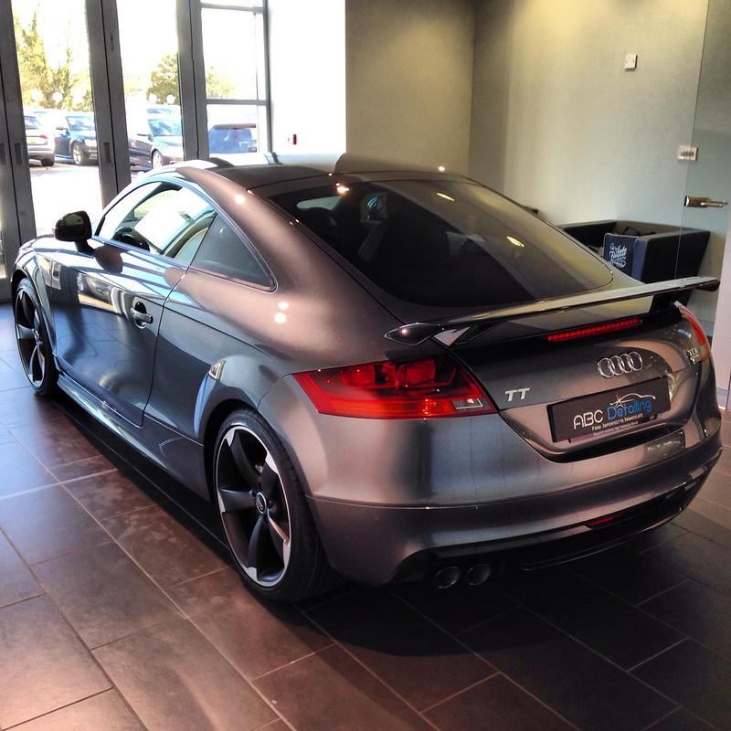 Daytona Grey Audi TT Black Edition