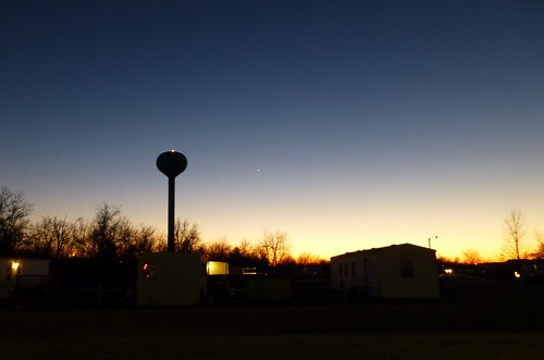 sunset dusk watertower missouri bowlinggreen bowlinggreenmo