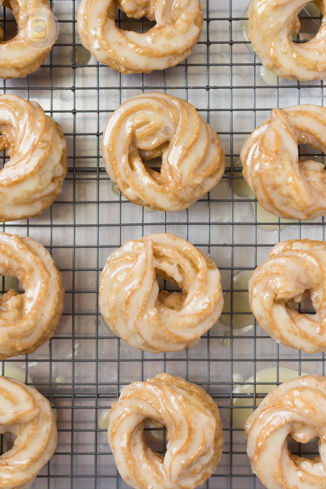 French Honey Crullers Butter Glazed 3