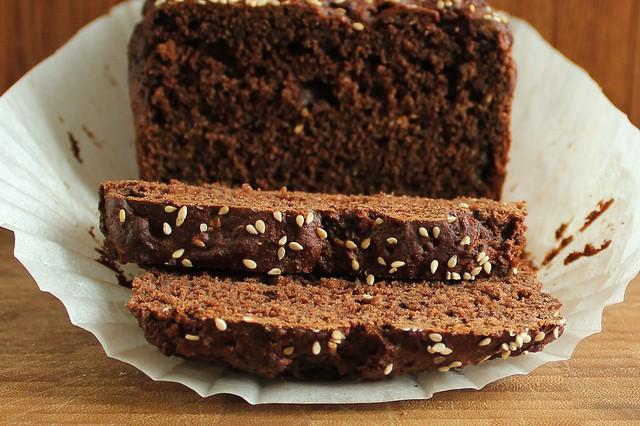 chocolate tahini bread-3