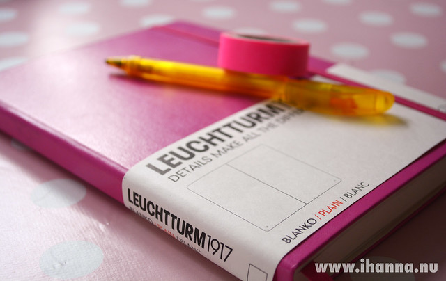 Leuchtturm1917 blank notebook