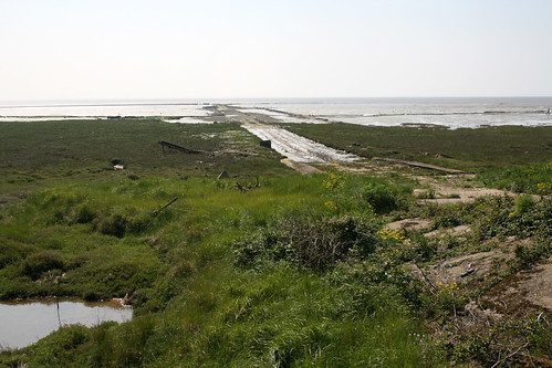 The Broomway at Asplins Head on Foulness ISland