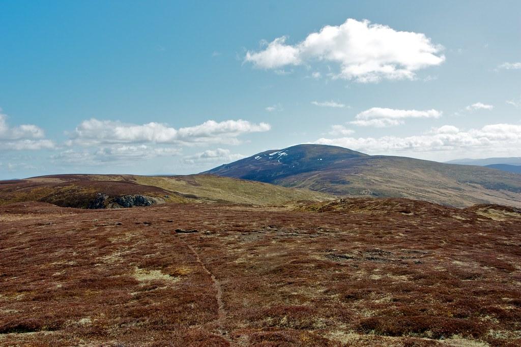Morven beyond the Slack of Glencarvie
