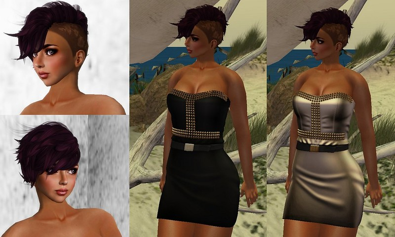 Ricielli 25L Promo dress on Mp, Adoness GG hair