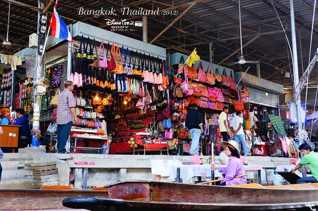 Day 4 Bangkok, Thailand - Damnoen Saduak Floating Market 07