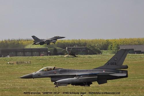 Royal Netherlands Air Force F-16 J-003