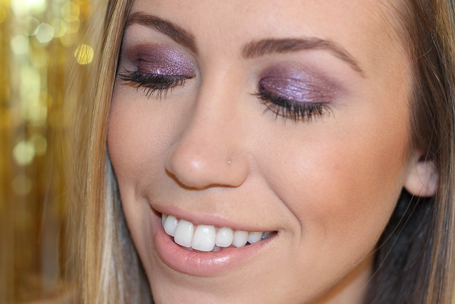 Purple Eyeshadow for #MakeupMonday on #LivingAfterMidnite