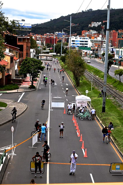 Ciclovia from Above