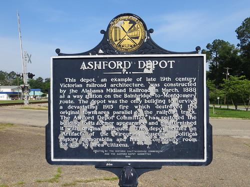 Ashford Depot Marker (HCC) Ashford AL