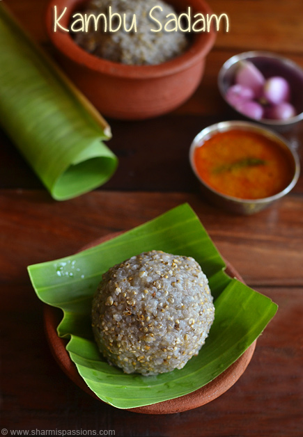 Kambu Sadam Recipe