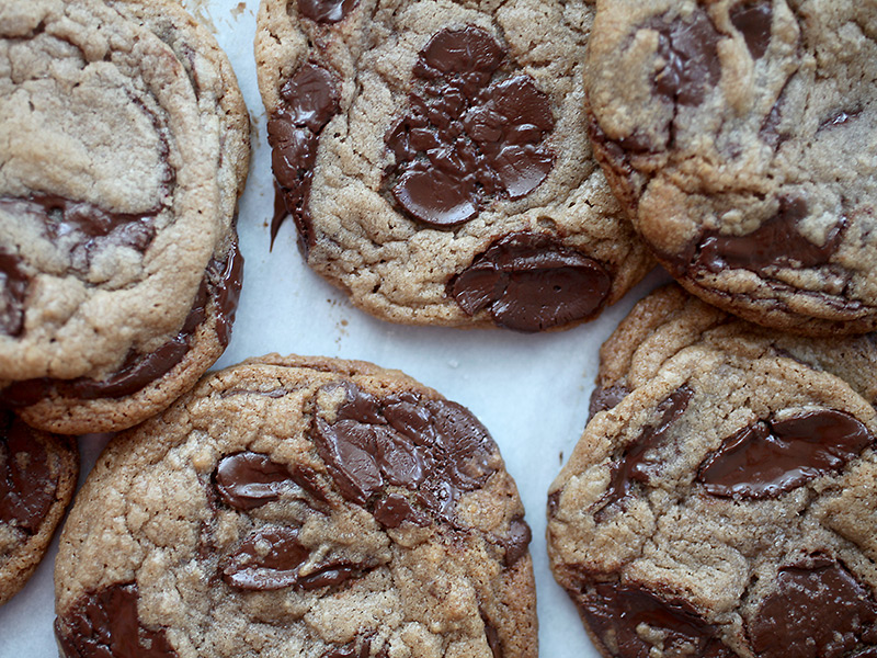 Melty! Salted Caramel Hazelnut Chocolate Chunk Cookies ...