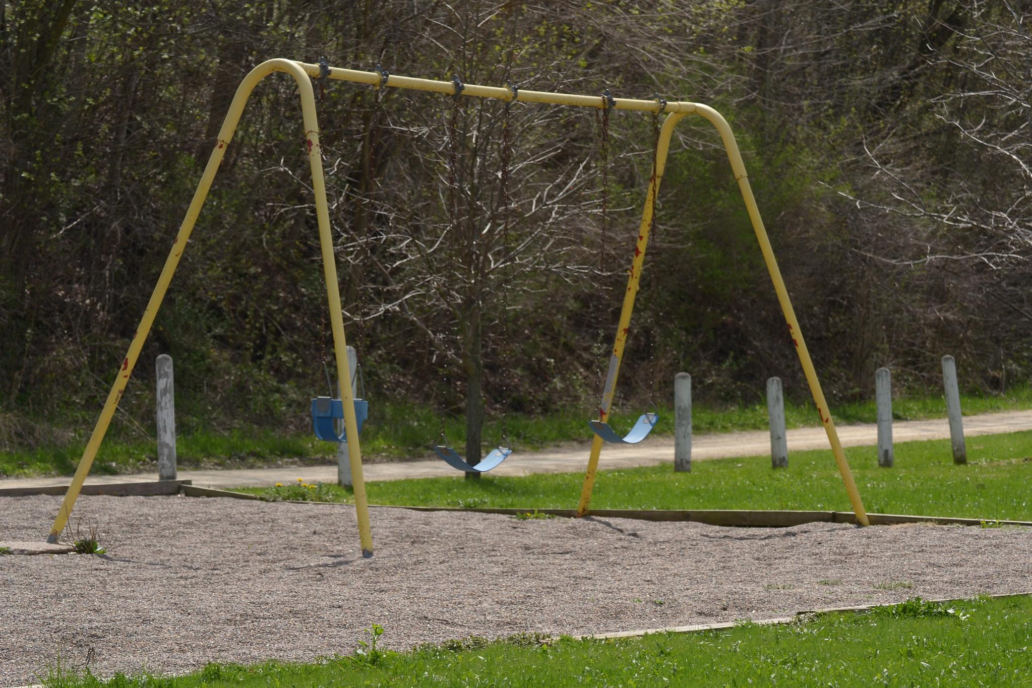 vintage swing set | Flickr - Photo Sharing!