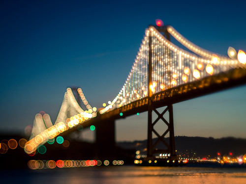 Bay Bridge at San Fran