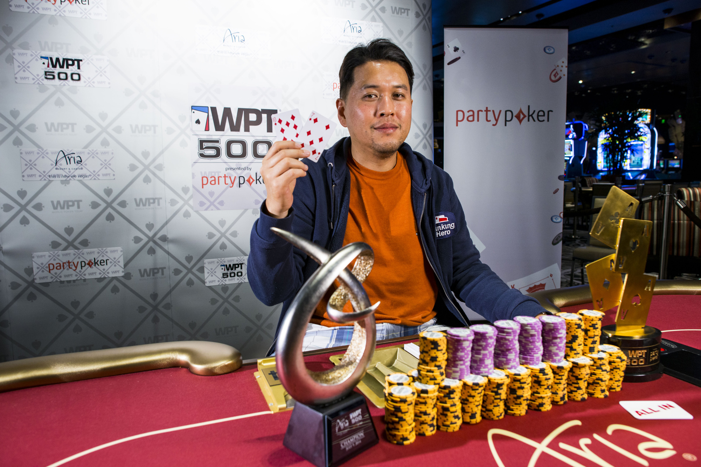 Champion Sean Yu