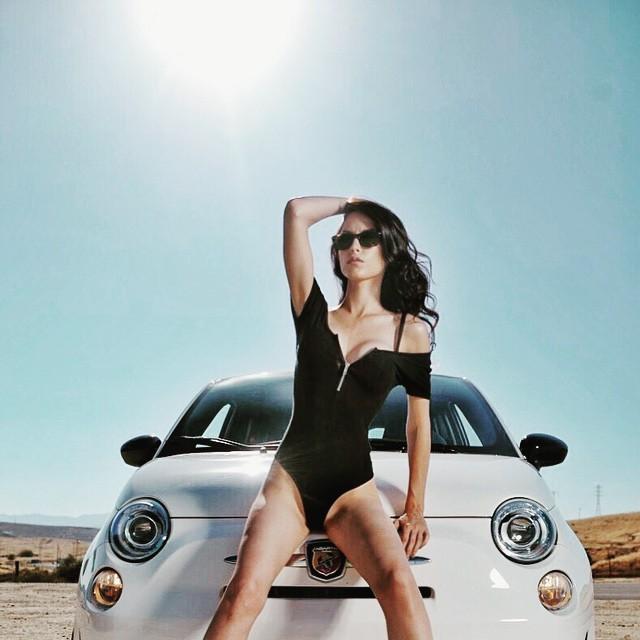 #Bakersfield #Hot #model: @modelingbyericamorgan #fiat #abarth #fiat500 @abarthonly @fiat500cinquecento @fiatusa #2013FIATAbarth #illusivephotography
