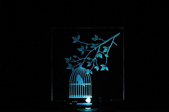 Quà Tặng Light Love (Lồng chim)