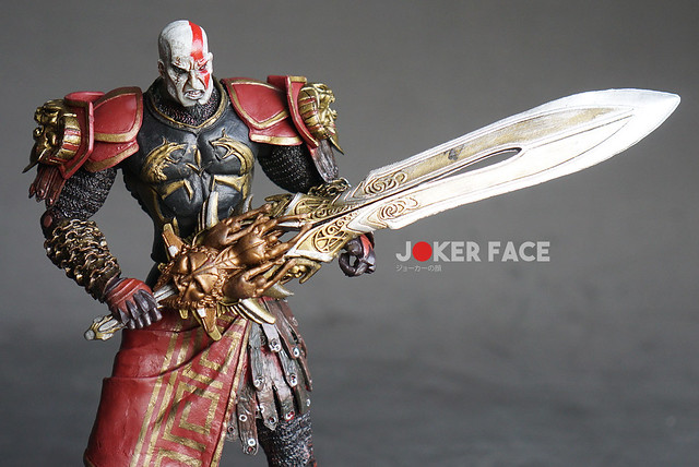 Action figure Kratos Ares Armor Section A - God Of War