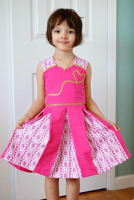 Raglan Party Dress