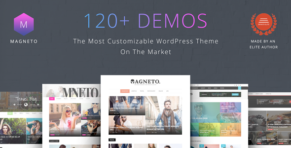 Magneto v1.0 – Multi Concept Newspaper / News / Magazine / Blog WordPress Theme