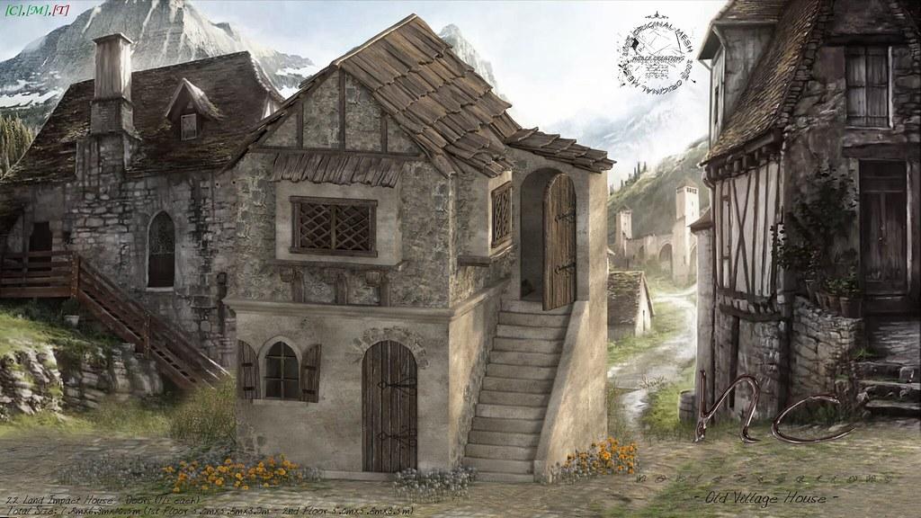 [NC] - Old Village House 1/3 - SecondLifeHub.com
