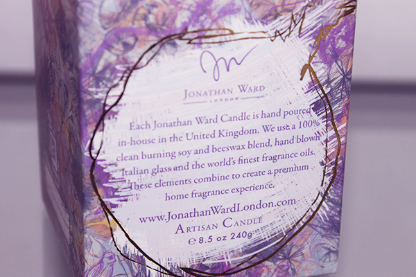 A review of Jonathan Ward Fig Ultimatum Candle