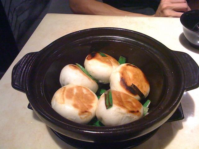 雪菜生煎包@新北永和,宴上海