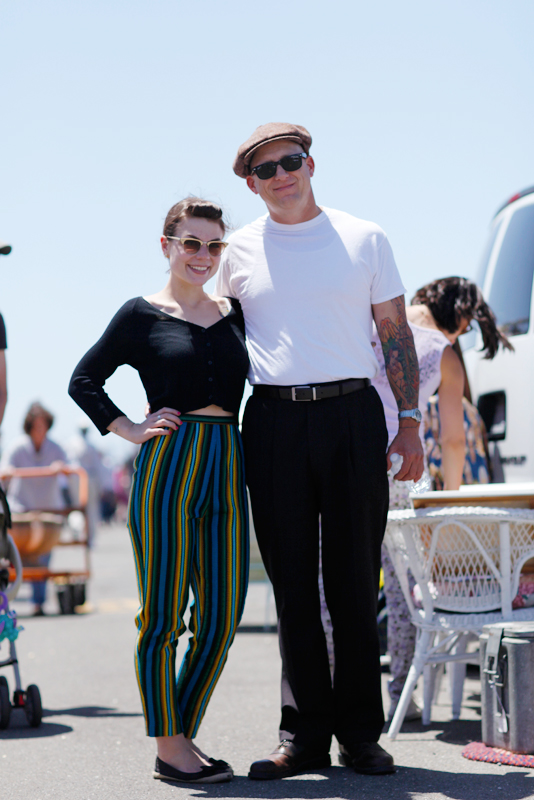 haleyandguy_af street style, men, women, street fashion, Quick Shots, Alameda Flea Market