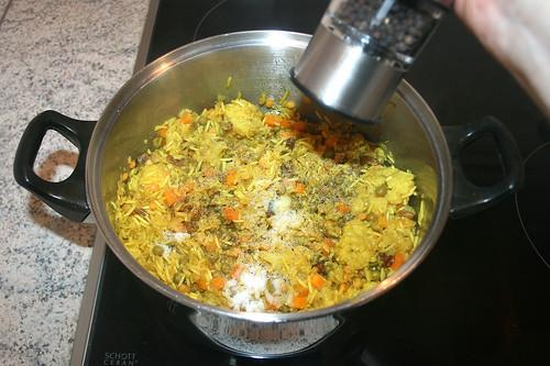 46 - köcheln und mit Pfeffer & Salz abschmecken / Simmer and season with pepper & salt
