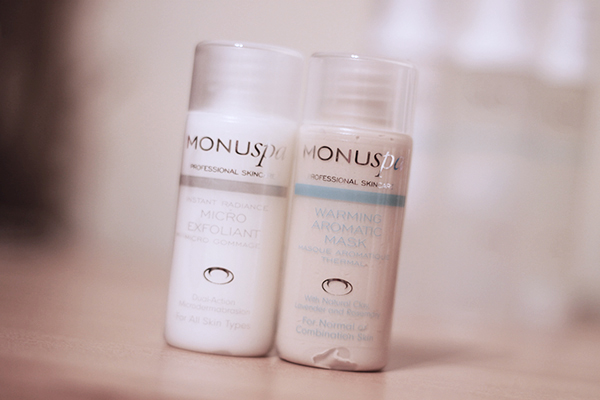 Monu Spa Micro Exfoliant and Warming Aromatic Mask