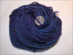 Blue Fortune handspun
