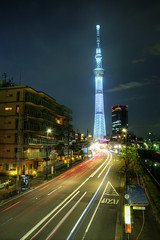 Skytree from Distance