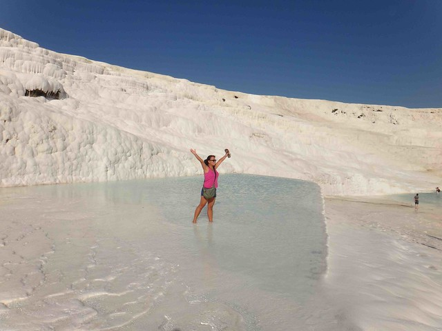 Beautiful pools at Pammukale2