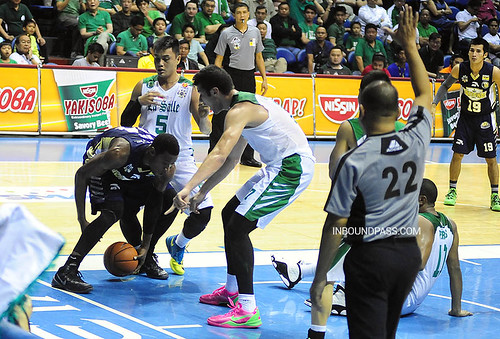 UAAP Season 76: De La Salle Green Archers vs. NU Bulldogs, July 28
