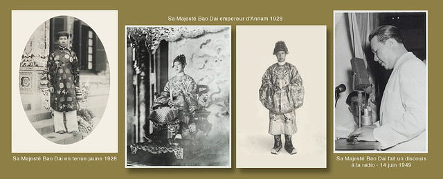 1928 Sa Majesté Bao Dai empereur d'Annam