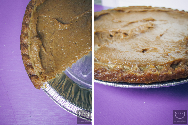 Vegan Pumpkin Pie by Sweet Earth Natural Foods
