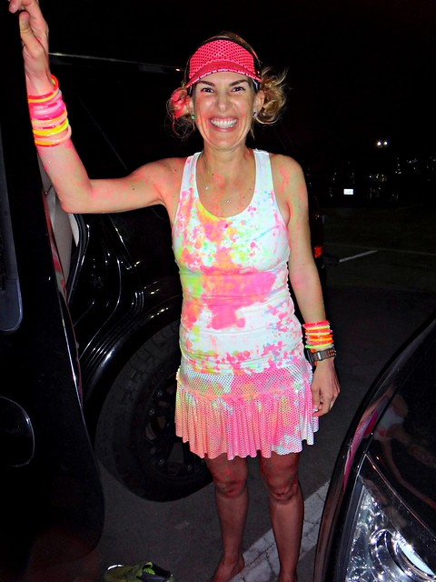 Kelly at Post Neon Splash Dash