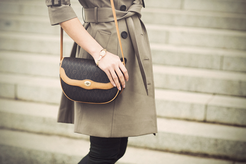 Burberry Prorsum Garbadine Trench Coat