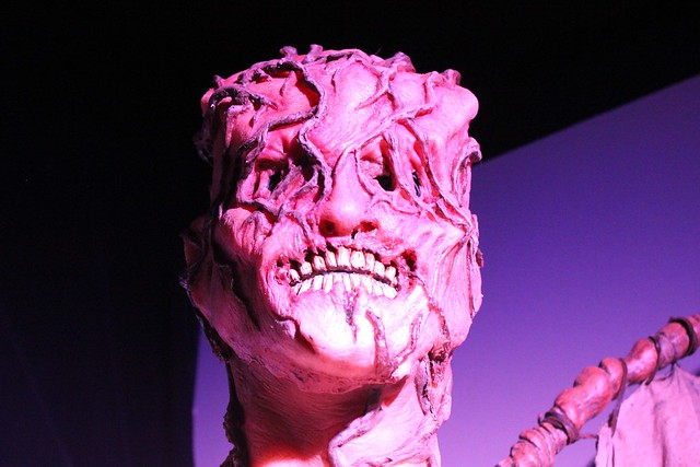 Halloween Horror Nights exhibit and presentation at the Orlando History Center