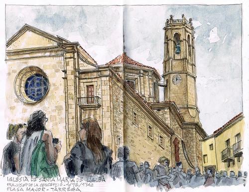 Iglesia Sta Maria de l'Alba
