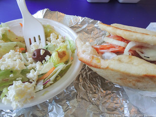 Greek Salad & Gyro