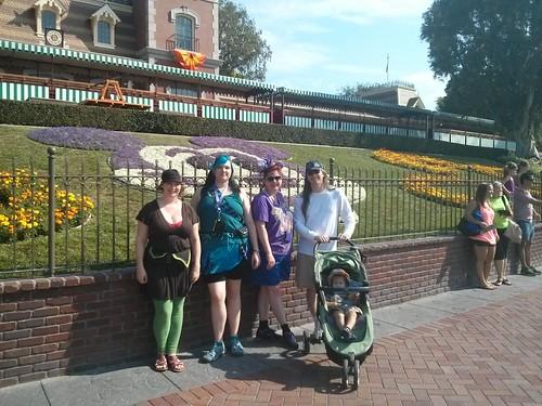 In Disneyland!